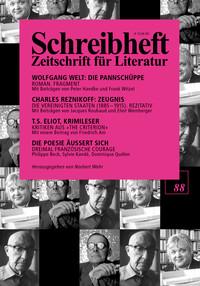 Wolfgang Welt: Die Pannschüppe - Fragment